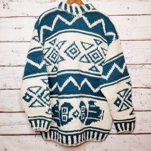 Otavalo 100% Wool Ecuadorian Sweater